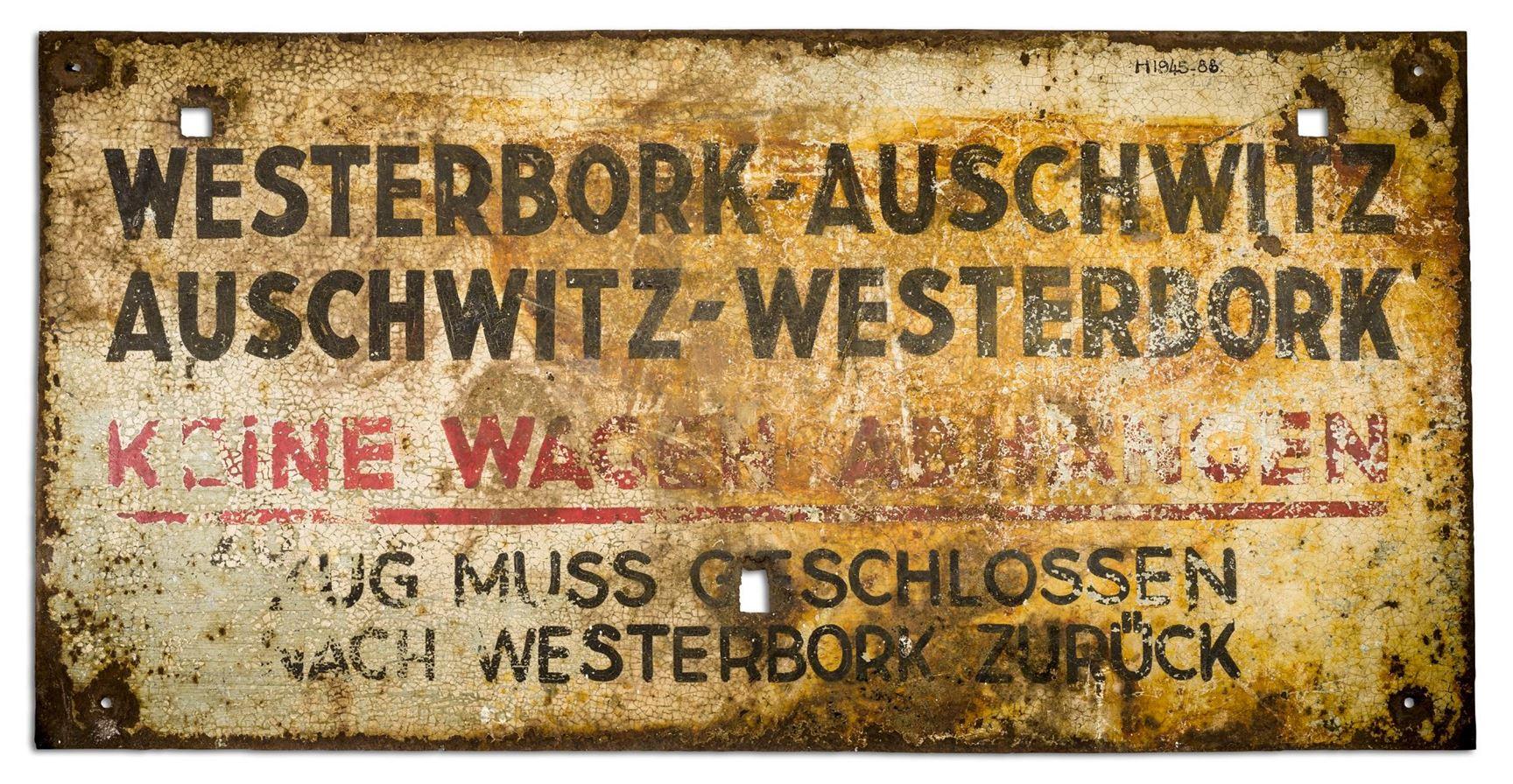 COLUMN: Treinbord Westerbork-Auschwitz-Westerbork